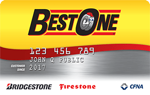 Best One Tire Credit Card